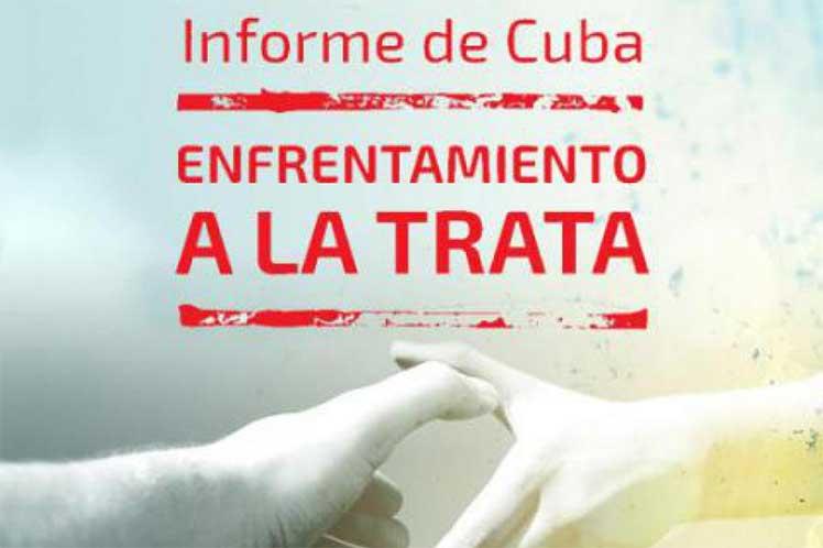 Cuba mantiene política de tolerancia cero a la trata de personas