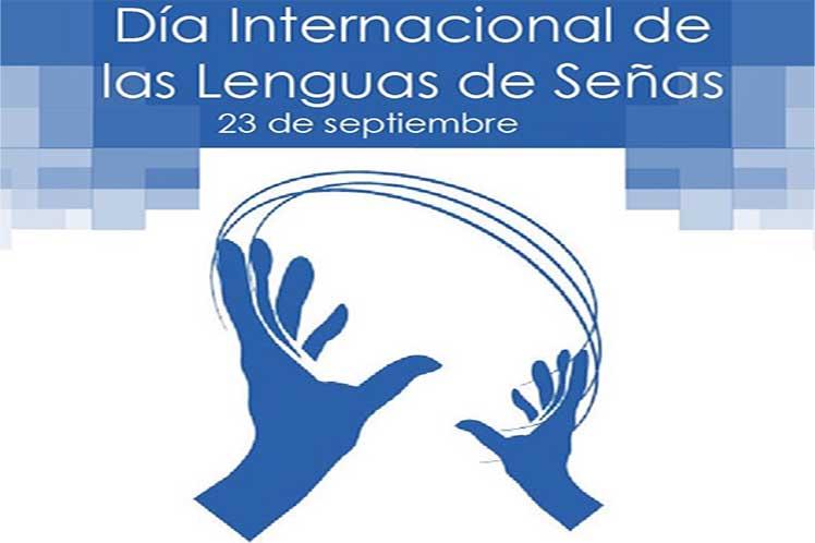 Lenguas de señas para la inclusión y protección de personas sordas