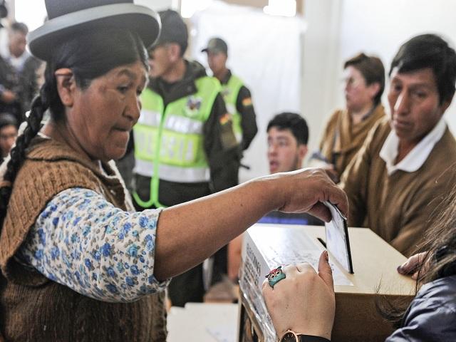 18 de octubre, elecciones en Bolivia. Foto: CP