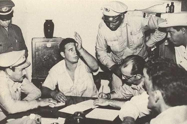 Recuerdan en Cuba aniversario 67 de inicio del juicio del Moncada