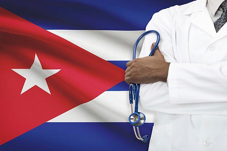 Henry Reeve Contingent Brigade returns to Cuba.