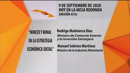 Ministerios de Comercio Exterior e Industria Alimentaria en Estrategia Económica Social (Audio)