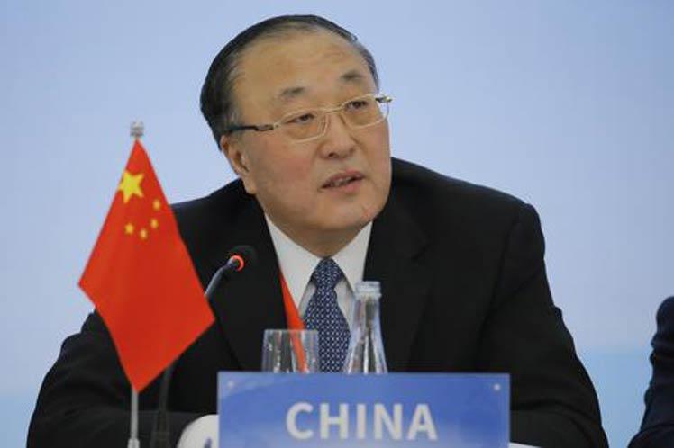 Zhang Jun, representante permanente del país ante la Organización de Naciones Unidas.