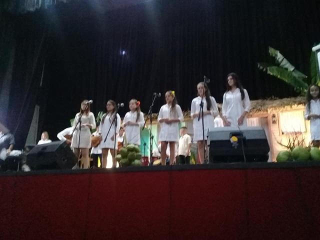 Grupo musical Son y Punto de la Casa de la Décima de Mayabeque. Foto: Cortesía d ela autora