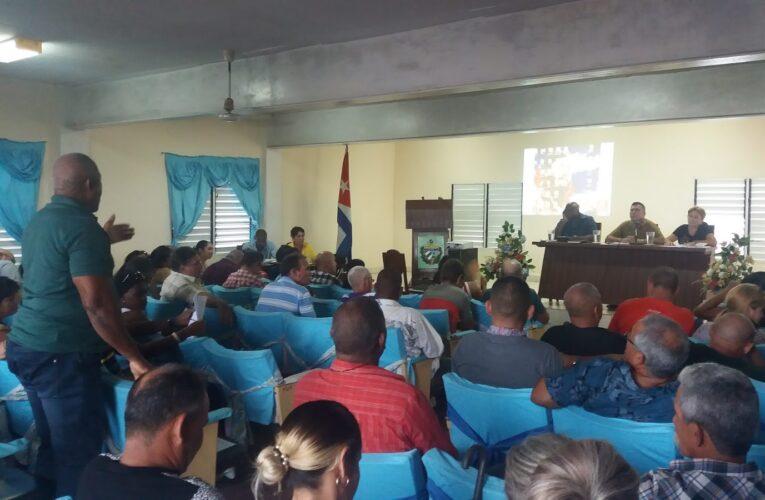Reanudan en Mayabeque sesiones de las Asambleas Municipales del Poder Popular (Audio)