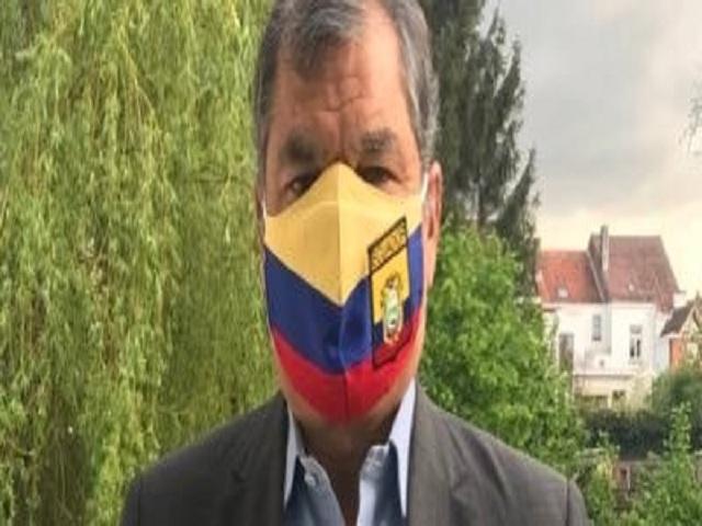 Piden apoyo a Correa: Ecuador a vencer.