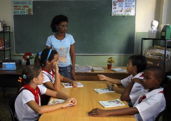 Sistema educacional en Cuba.
