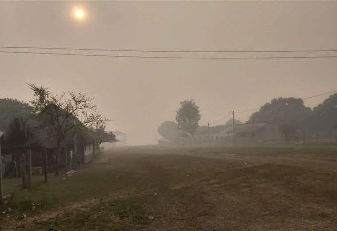 Incendios forestales amenazan reserva natural de Bolivia.