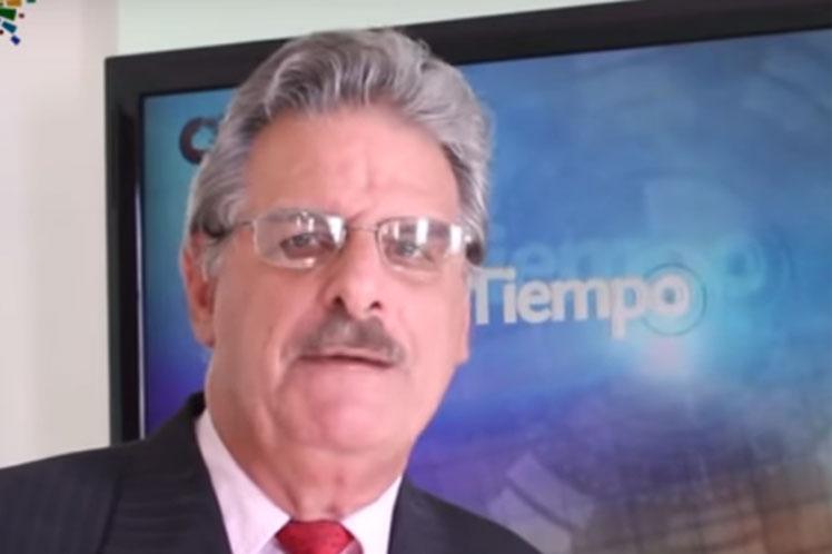 Estable destacado meteorólogo cubano José Rubiera.