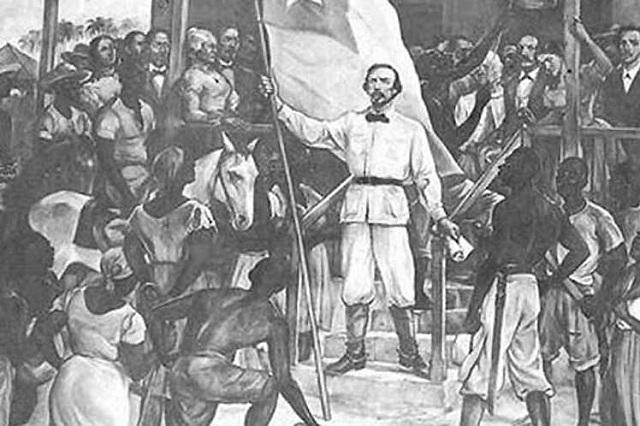 Carlos Manuel de Céspedes tomó la decisión de iniciar la guerra. Foto: Prensa Latina