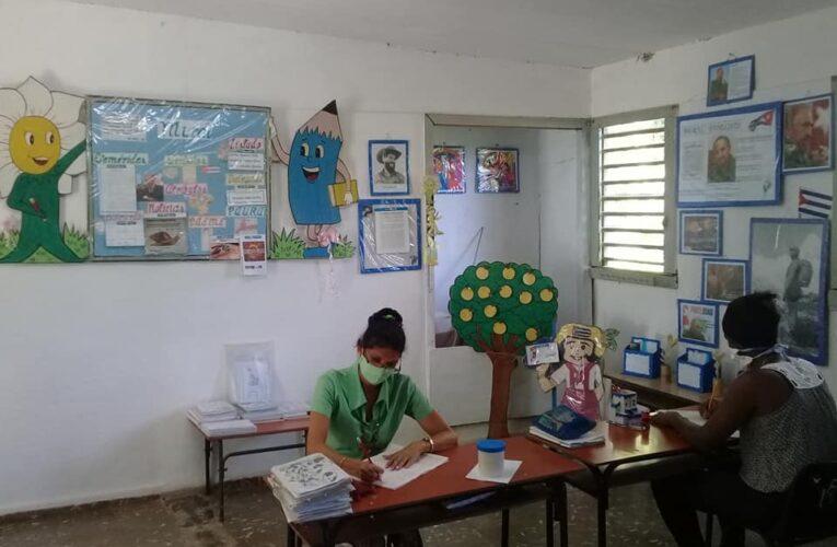 Intensifican preparativos en Jaruco para inicio del nuevo curso escolar