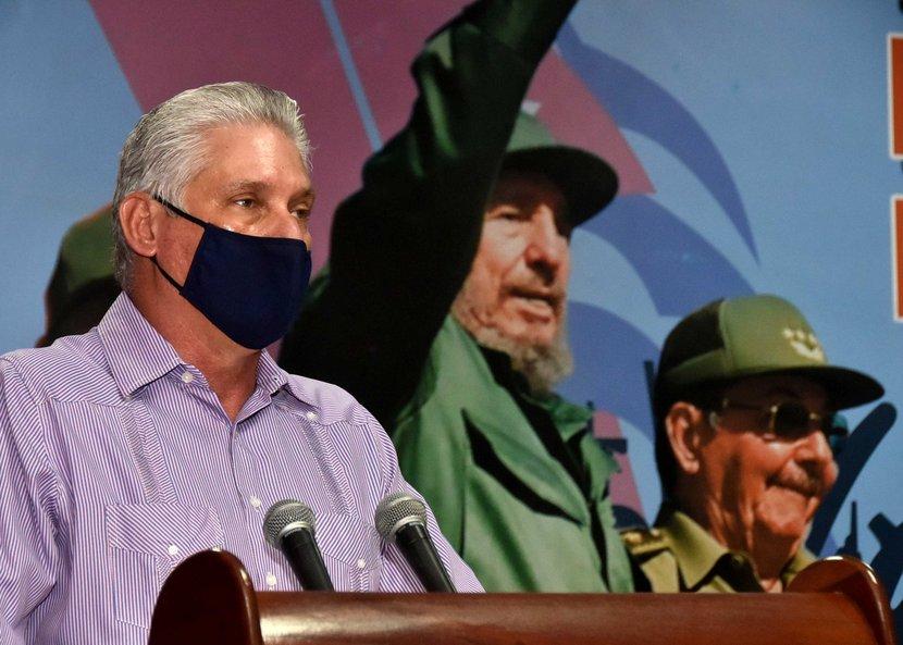 Miguel Díaz-Canel Bermúdez, President of the Republic of Cuba.