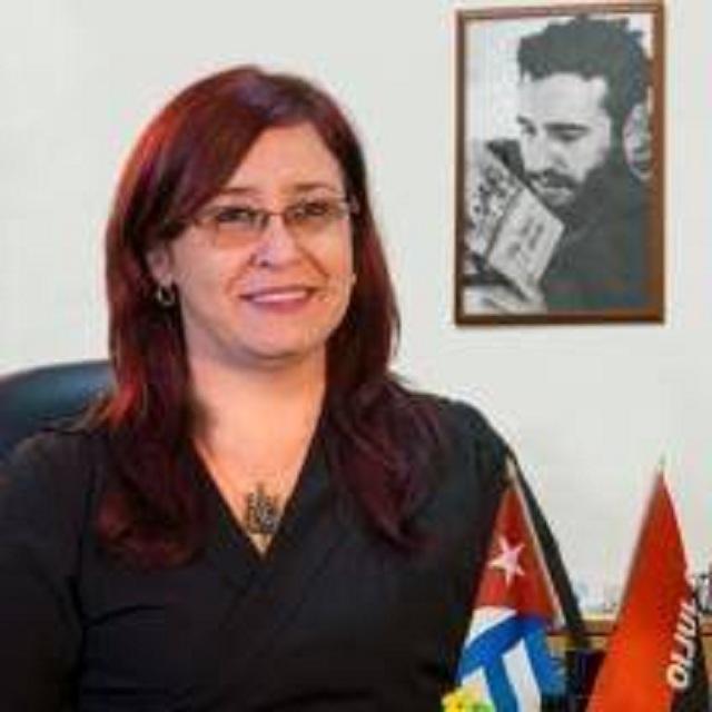 Tamara Valido Benítez, gobernadora de Mayabeque. Foto: Perfil Facebook.