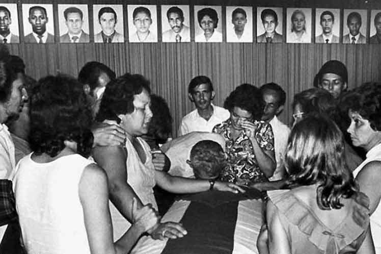 Cuba recuerda hoy a los más de tres mil 400 fallecidos por las agresiones de Estados Unidos contra la Isla. Foto: Prensa latina