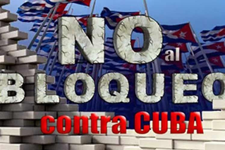 Encuentro virtual rechazará bloqueo de Estados Unidos contra Cuba