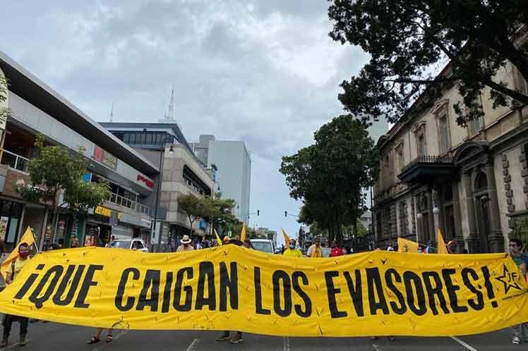 Llaman en Costa Rica a luchar por justicia tributaria.