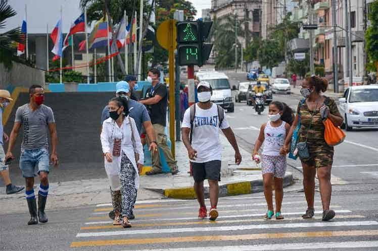 Cuba prioriza hoy el control de la tasa de incidencia de la Covid-19 en el centro del país. Foto: Prensa Latina