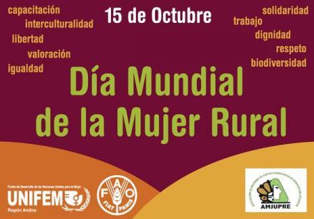 Día Mundial de la Mujer Rural.