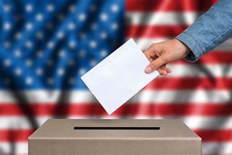 Votación anticipada para elecciones en Estados Unidos.