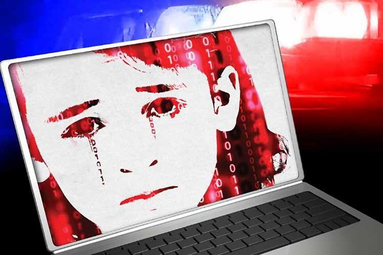 Autoridades policiales italianas desmantelaron una red internacional dedicada a pornografía infantil. Foto: Prensa Latina