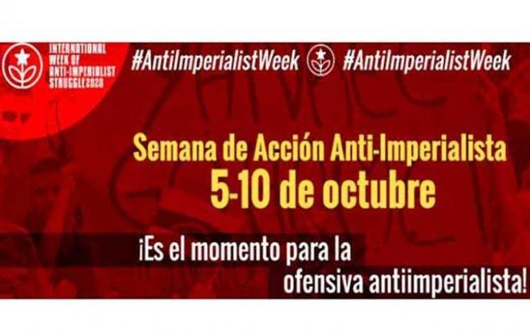 Inicia semana antiimperialista.