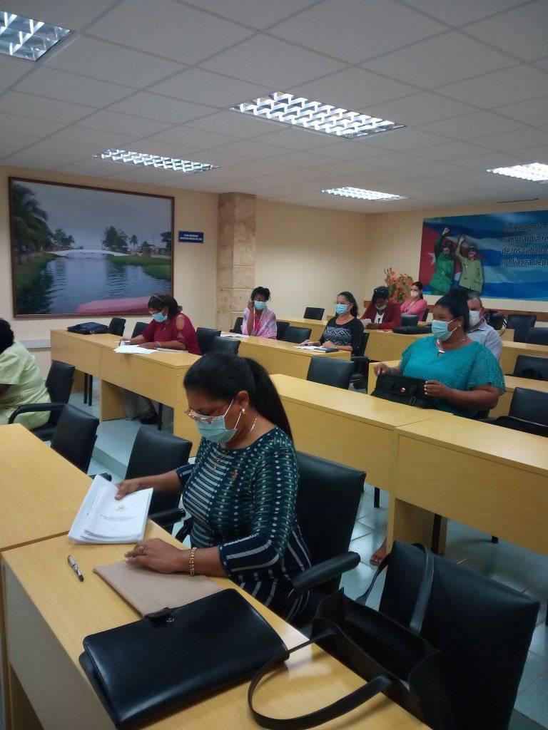 Diputados de Mayabeque en la segunda jornada de trabajo con vista al V Período de Sesiones de la Asamblea Nacional. Foto: Facebook