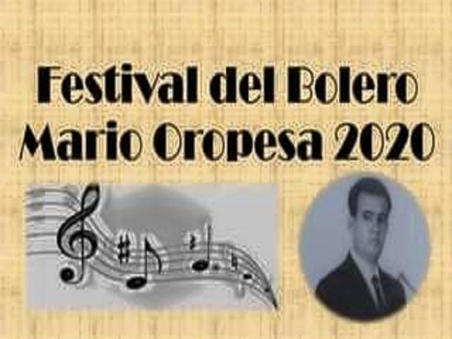Abierta convocatoria a Festival de Bolero Mario Oropesa