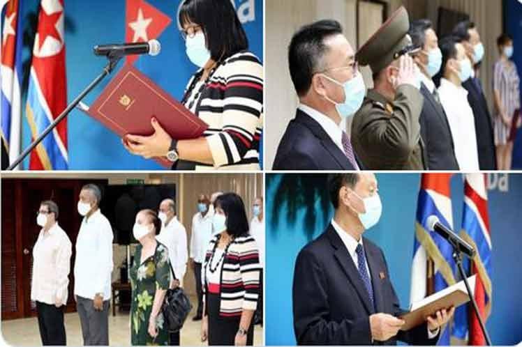 Celebran Cuba y la República Popular Democrática de Corea 60 años de nexos diplomáticos.