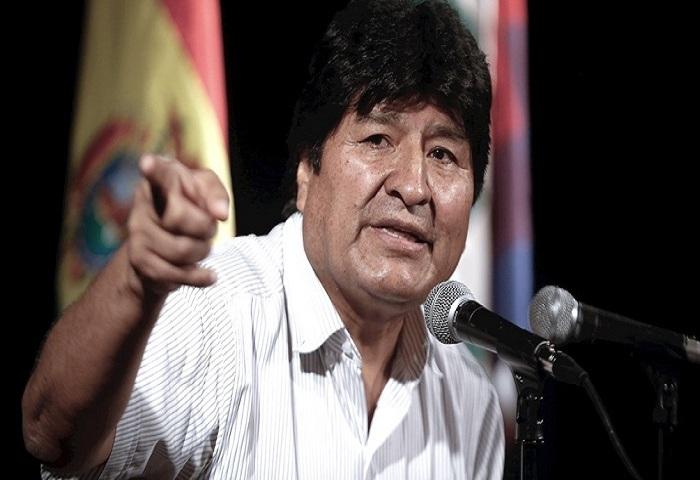 Denuncia Evo Morales manobras de Estados Unidos ante comicios presidenciales en Bolivia.