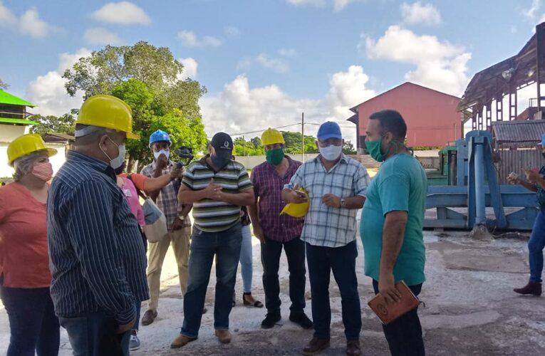 Asamblea Nacional del Poder Popular verifica  preparativos para  zafra azucarera en Mayabeque