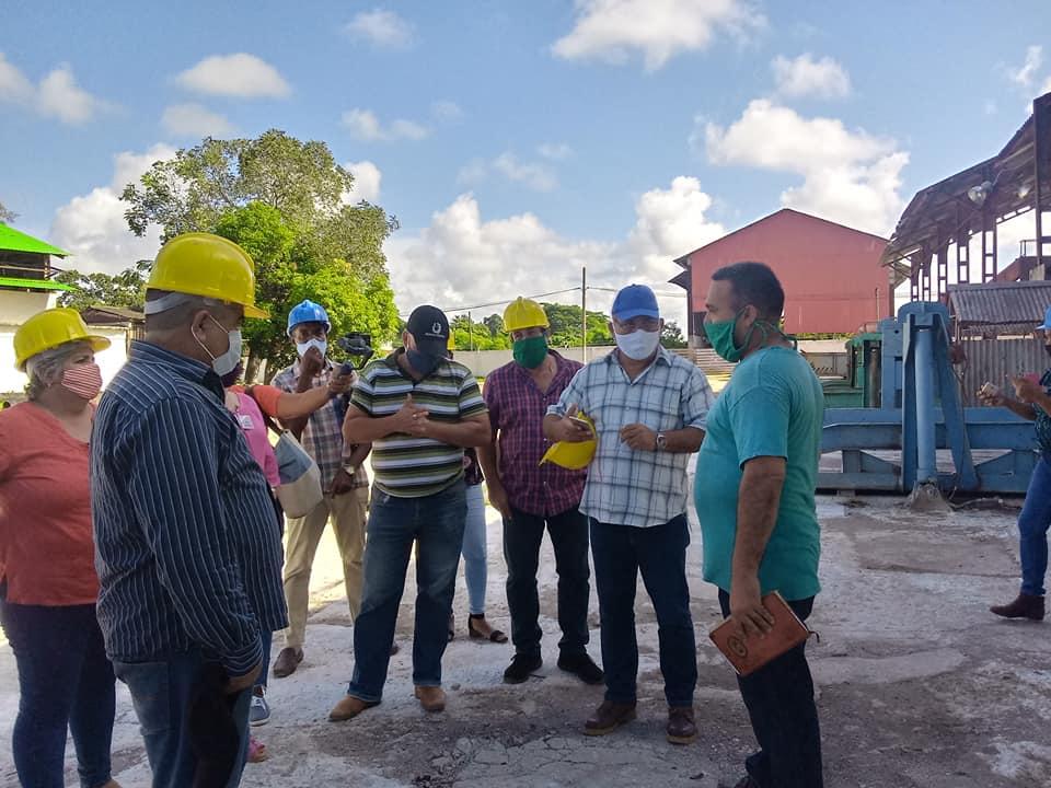 Asamblea Nacional del Poder Popular verifica preparativos para zafra azucarera en Mayabeque. Foto: Milay Vega. Asamblea Nacional del Poder Popular verifica preparativos para zafra azucarera en Mayabeque.