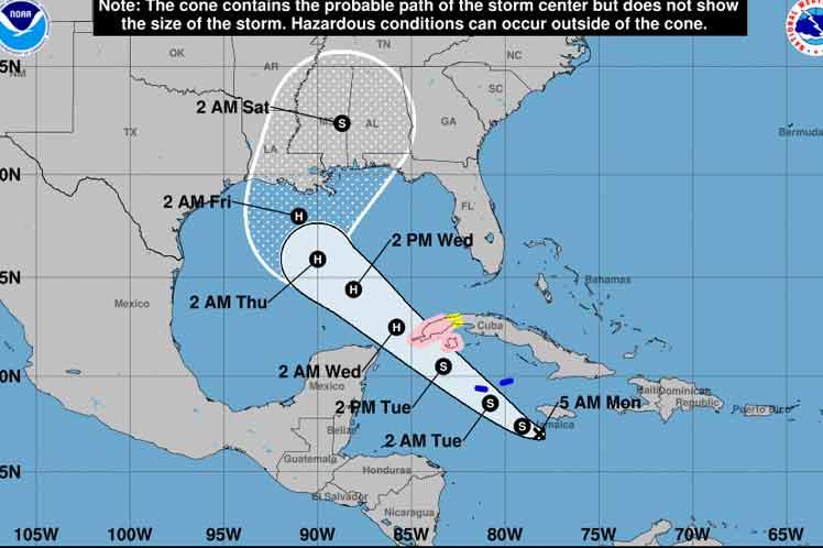 Cuba atenta a futura evolución de organismo ciclónico