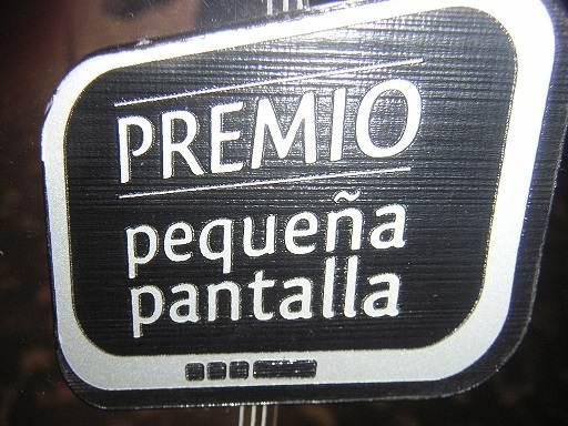 ENTREGA PREMIO PEQUEÑA PANTALLA