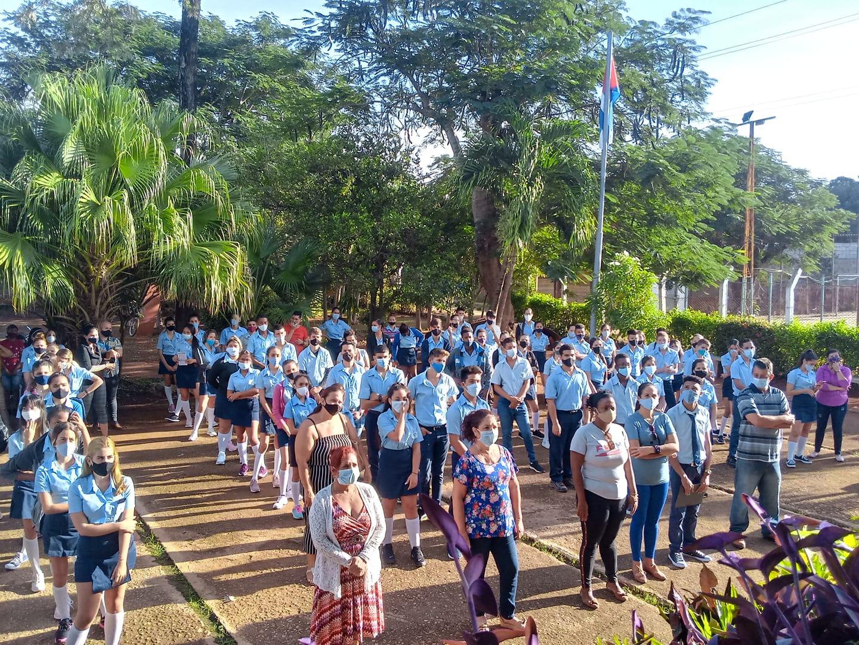 Celebran acto provincial por el Día Internacional del Estudiante.