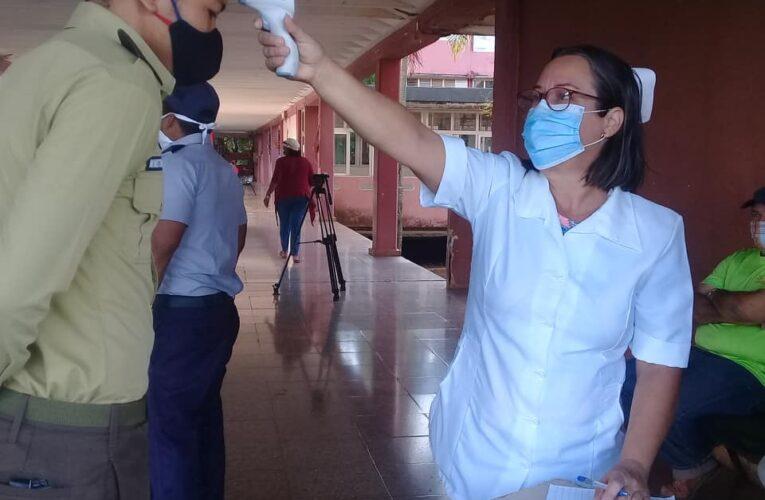 Centro de evacuación en Melena del Sur extrema medidas higiénico-sanitarias (+Audio)