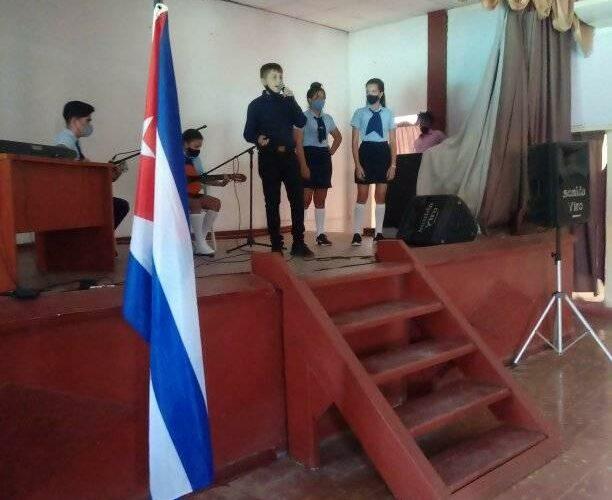Homenaje a Fidel Castro en Surgidero de Batabanó