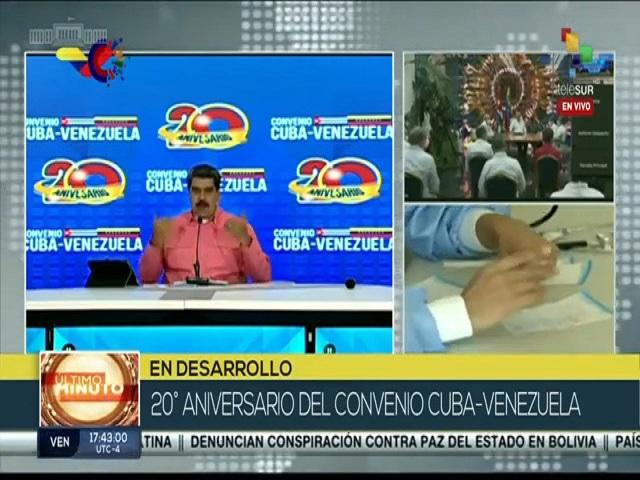 Encuentro virtual Cuba-Venezuela.
