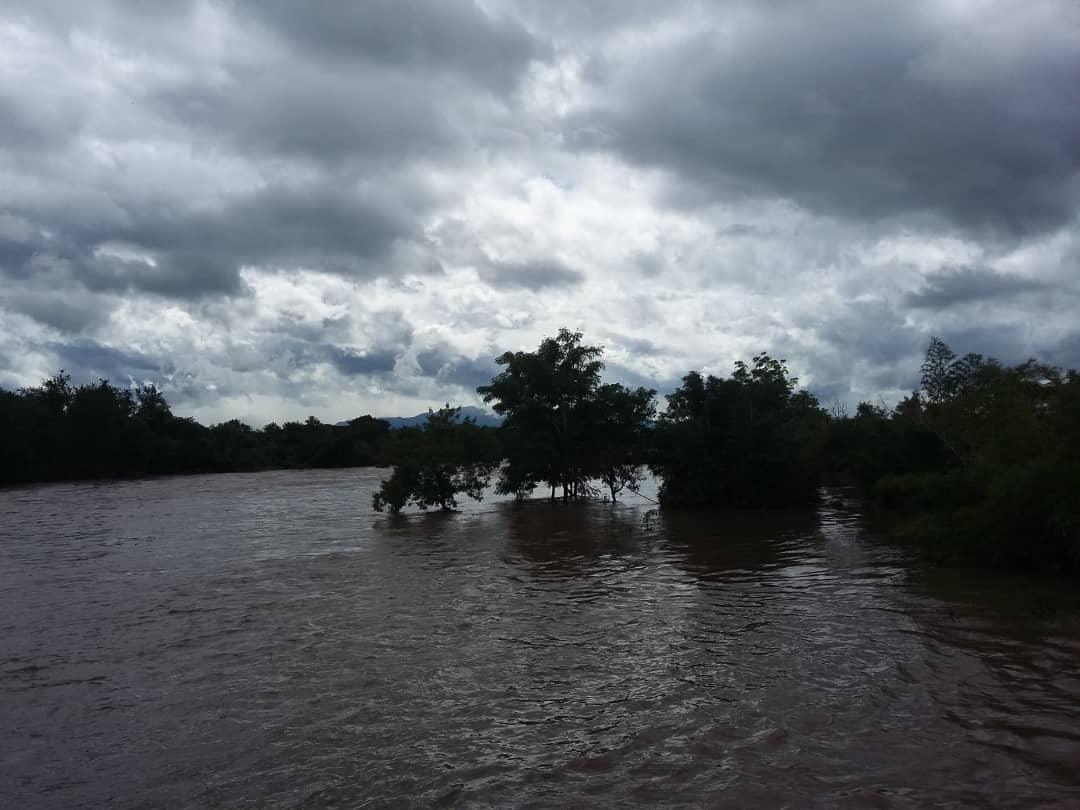 Las lluvias en Granmma provocaron inundciones y llenado de embalses
