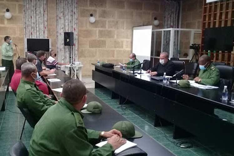Primer Ministro de Cuba exhortó al cumplimiento estricto de los protocolos de bioseguridad.