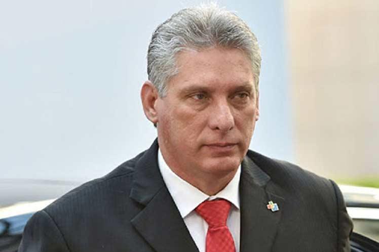 Díaz-Canel rememora ideas de Fidel Castro sobre soberanía de Cuba