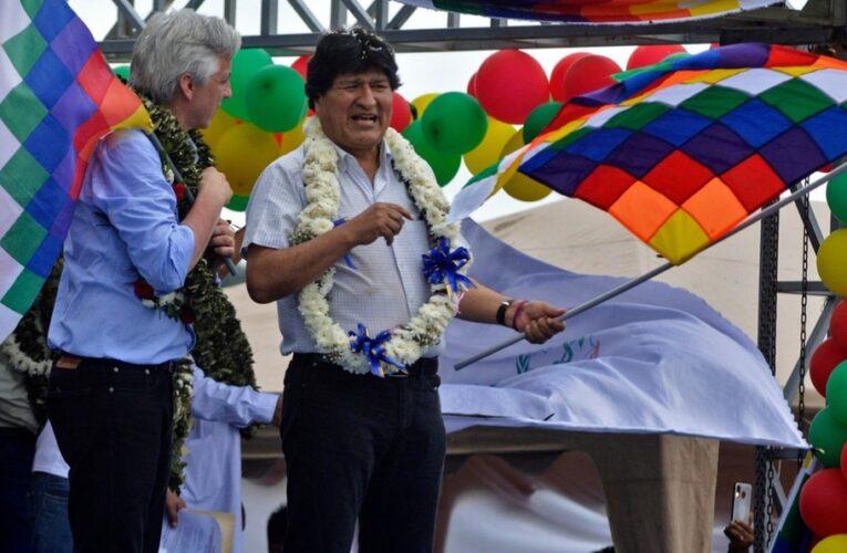 Massive Ovation for the Return of Evo Morales to Bolivia