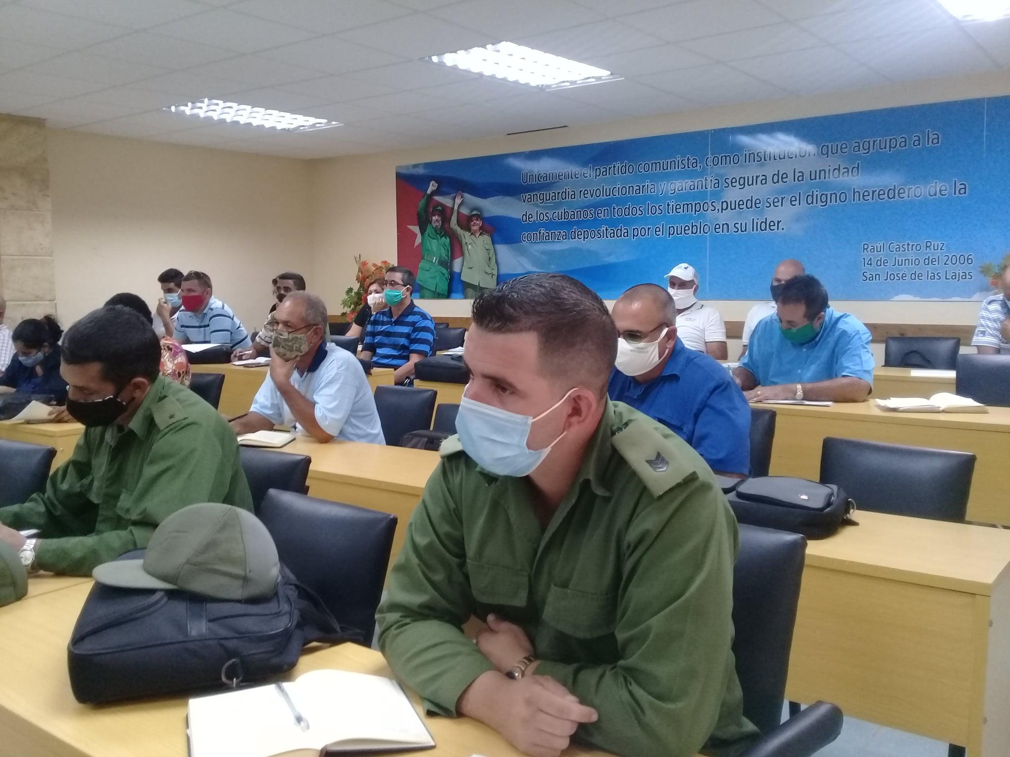 Consejo de Defensa en Mayabeque adopta medidas ante la depresión tropical Eta.