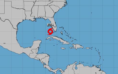 La tormenta tropical Eta no constituye un peligro para las regiones central y oriental. Foto: Portal de la Radio Cubana