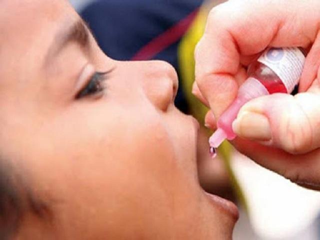 Campaña de Vacunación Antipoliomielítica en Cuba.