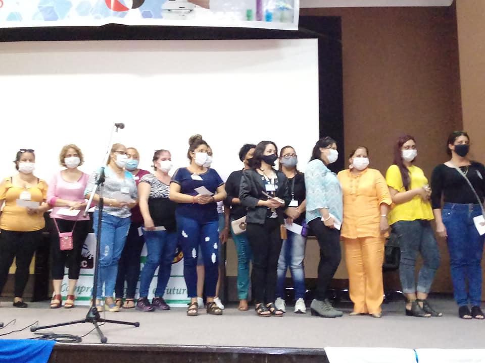 Reconocen labor de mujeres de Mayabeque durante enfrentamiento a la COVID 19.