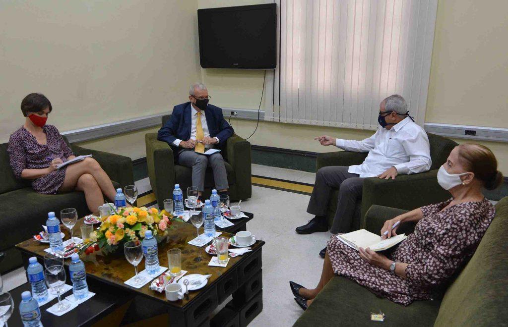 Cuba y Francia fortalecen lazos parlamentarios.
