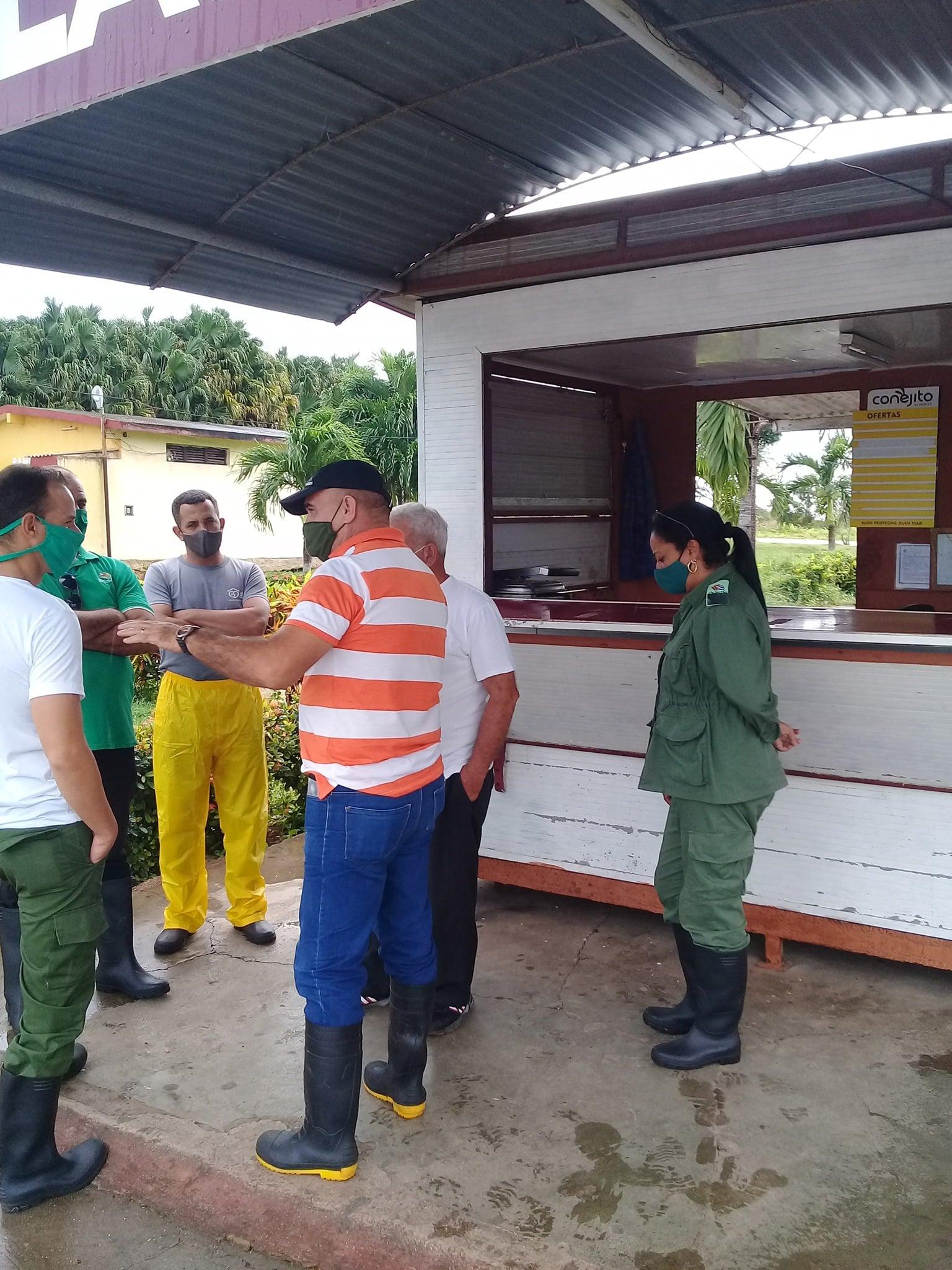 En Nueva Paz crearon las condiciones para la adecuada comunicación en las cuatro zonas de defensa del municipio. Foto: Cortesía de la autora.