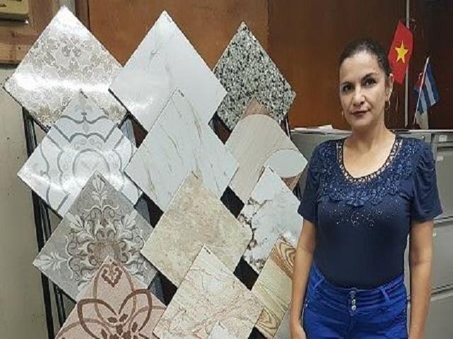 Realiza venta online de producciones de cerámica blanca Empresa Mixta SANVIG.SA.