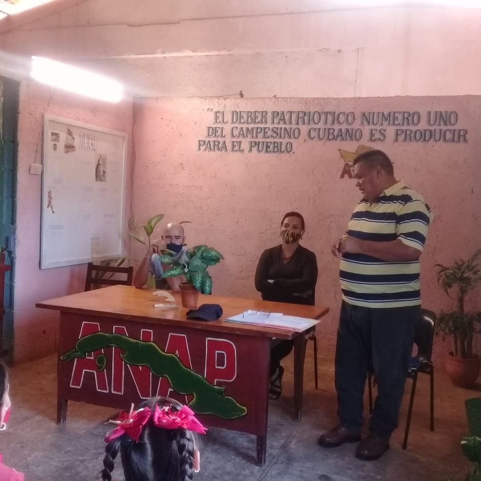 Rindieron homenaje al mártir Ismael Troncoso en Melena del Sur.