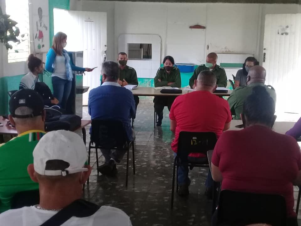 Consejo de Defensa Municipal de Batabanó activo ante la situación hidrometeorológica